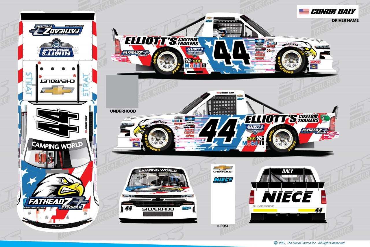 Conor Daly - NASCAR Truck Series 2021 - Las Vegas