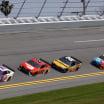 Denny Hamlin, Bubba Wallace, Christopher Bell, Kyle Busch - Joe Gibbs Racing - 23XI Racing - Daytona International Speedway - NASCAR Cup Series