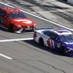 Denny Hamlin and Bubba Wallace at Daytona International Speedway - NASCAR Cup Series