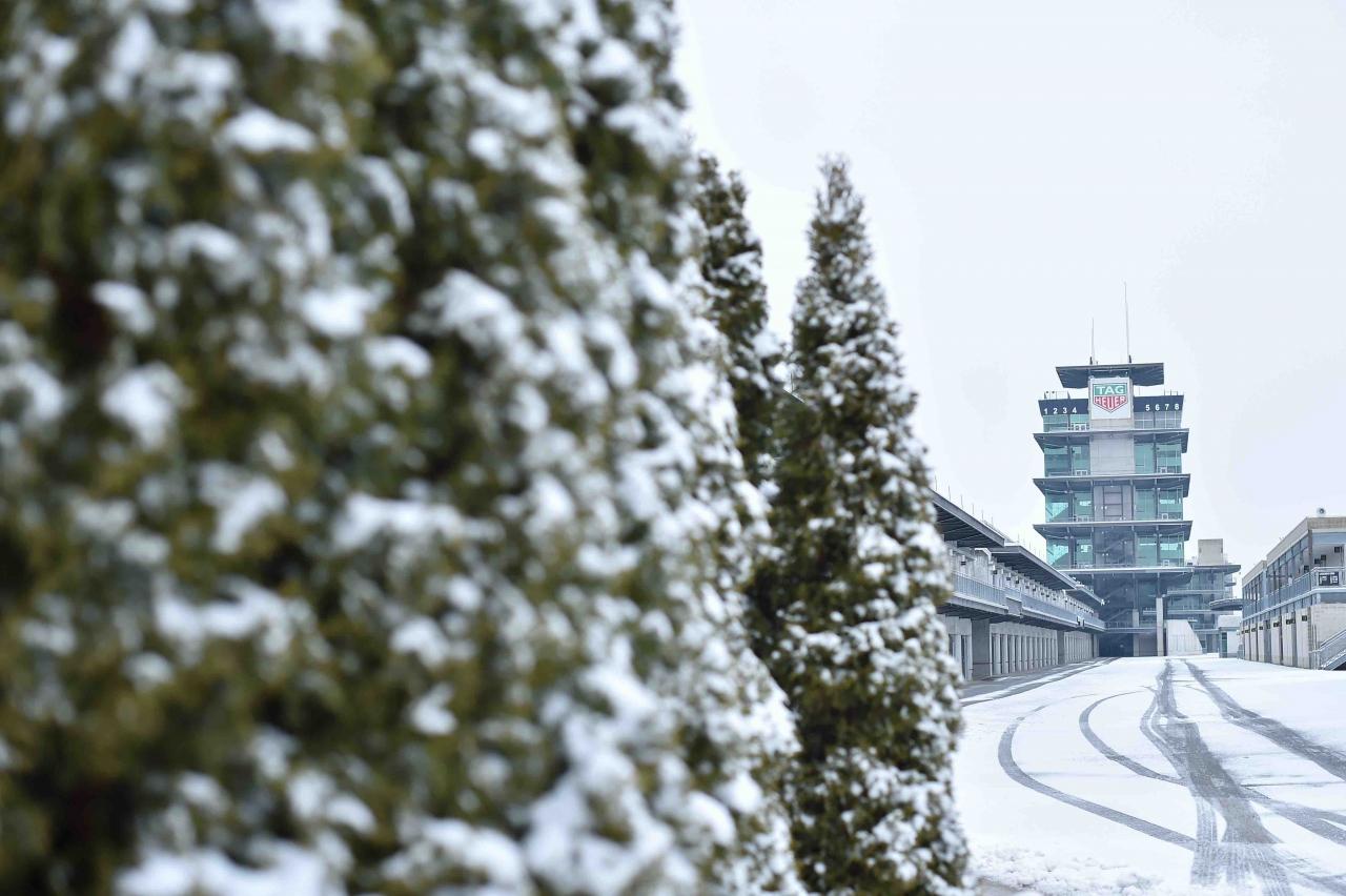Indianapolis Motor Speedway - Snow photo