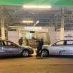 Jeff Gordon and Clint Bowyer crash rental cars at Daytona