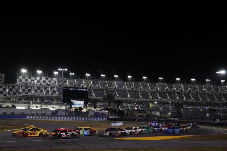 Joey Logano and Austin Dillon - NASCAR Cup Series - Daytona Road Course