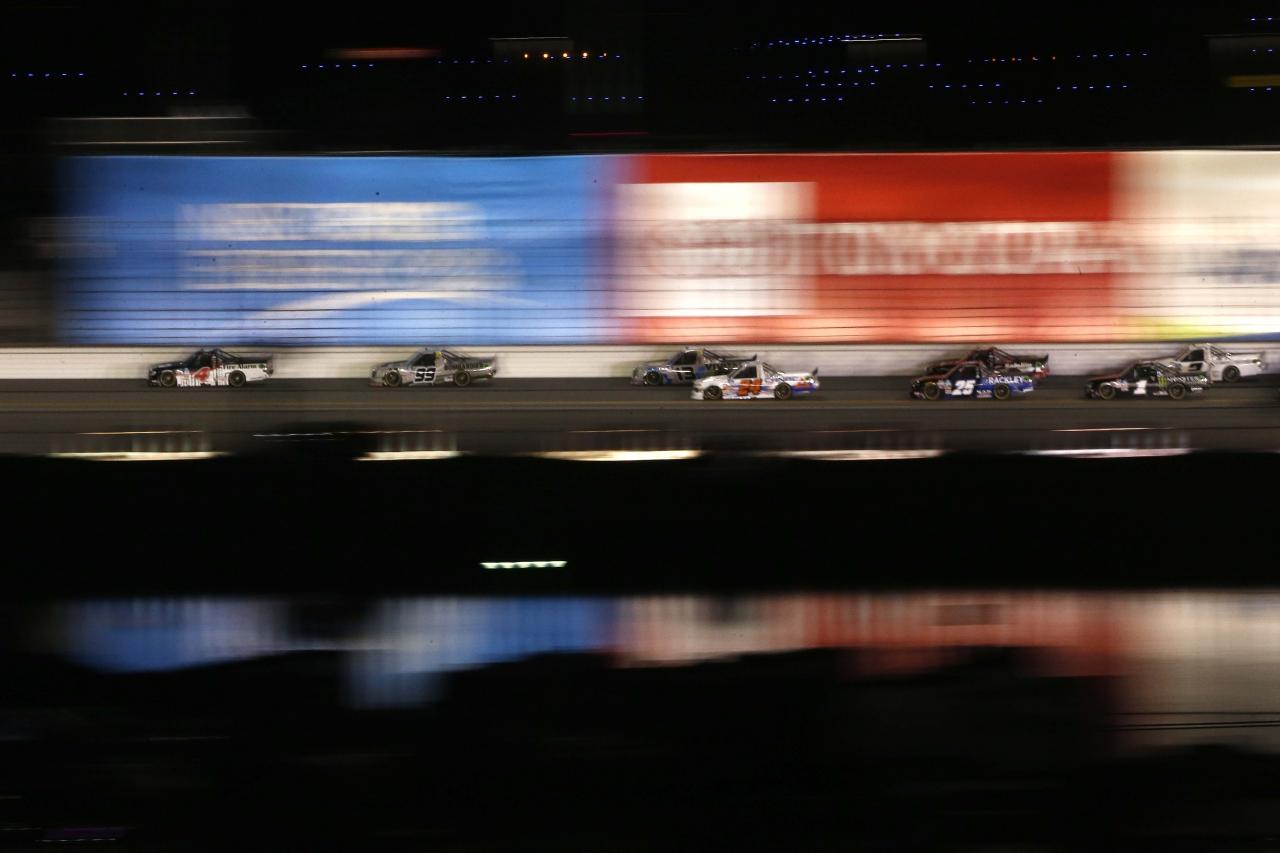 John Hunter Nemechek at Daytona International Speedway - NASCAR Truck Series