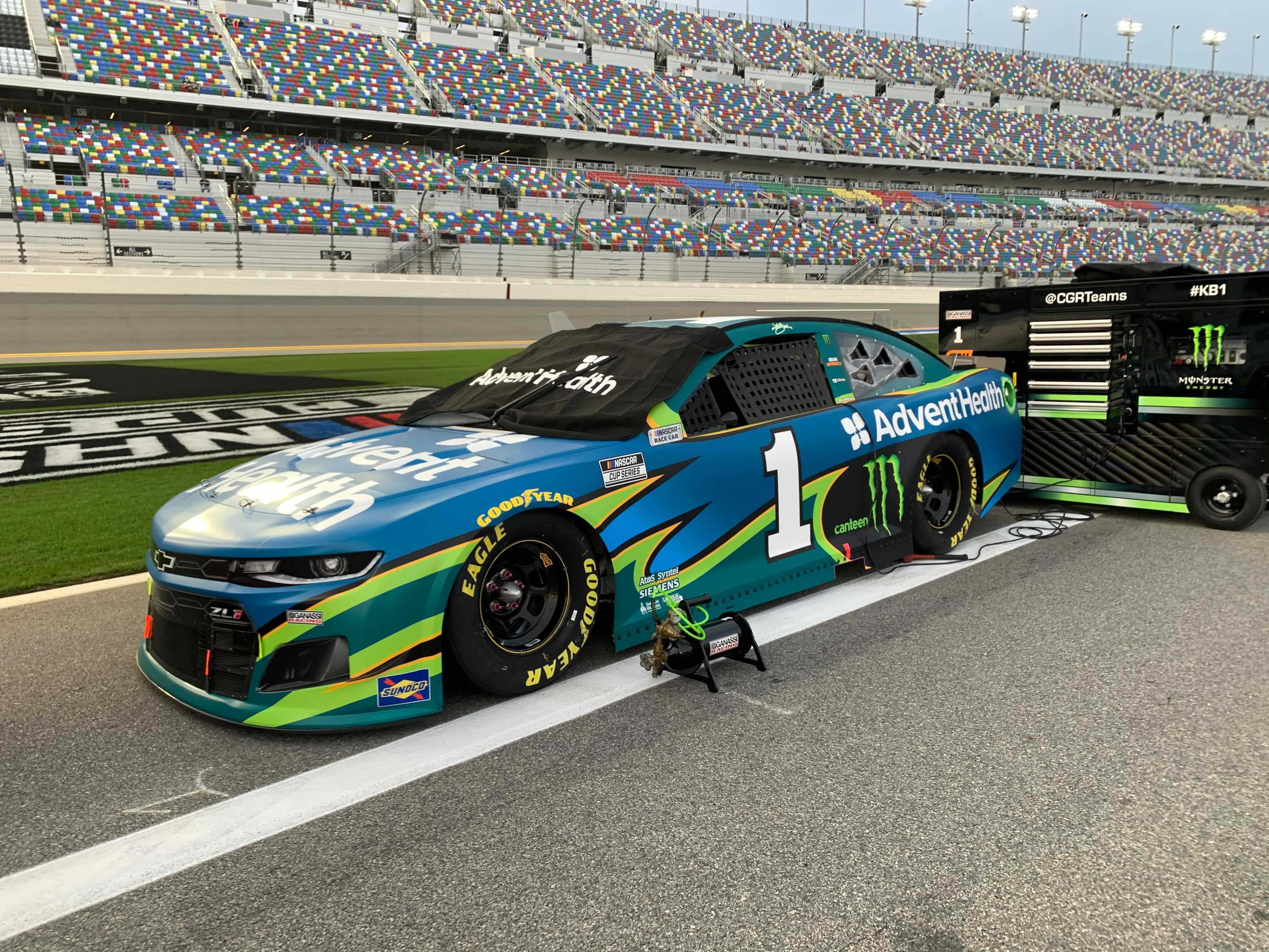 Kurt Busch - Daytona International Speedway - NASCAR Cup Series
