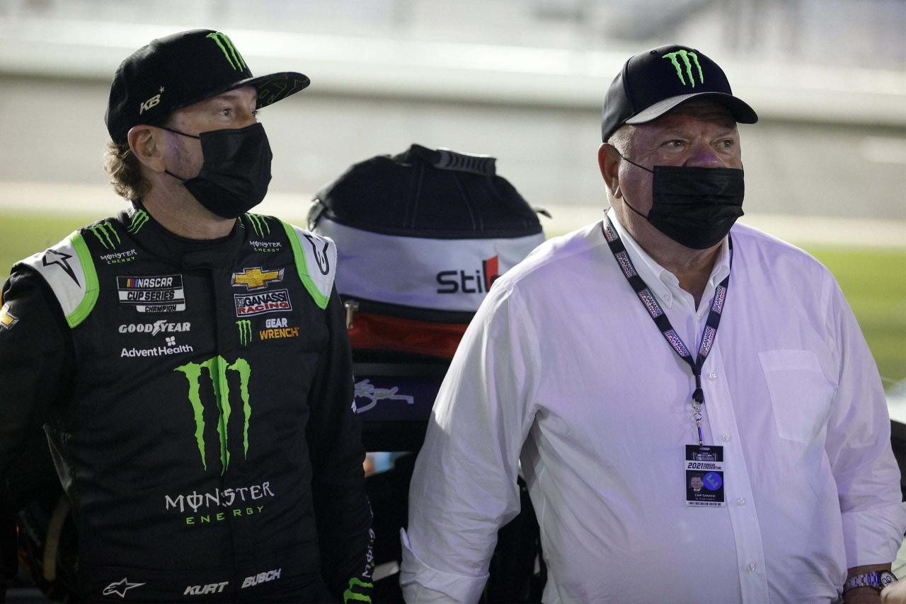 Kurt Busch and Chip Ganassi - NASCAR