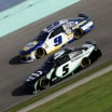 Kyle Larson and Chase Elliott at Homestead-Miami Speedway - NASCAR Cup Series