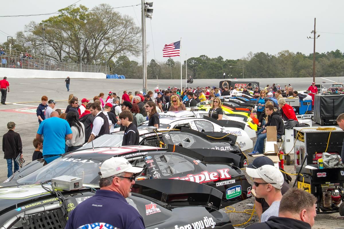 Mobile International Speedway - Race Cars