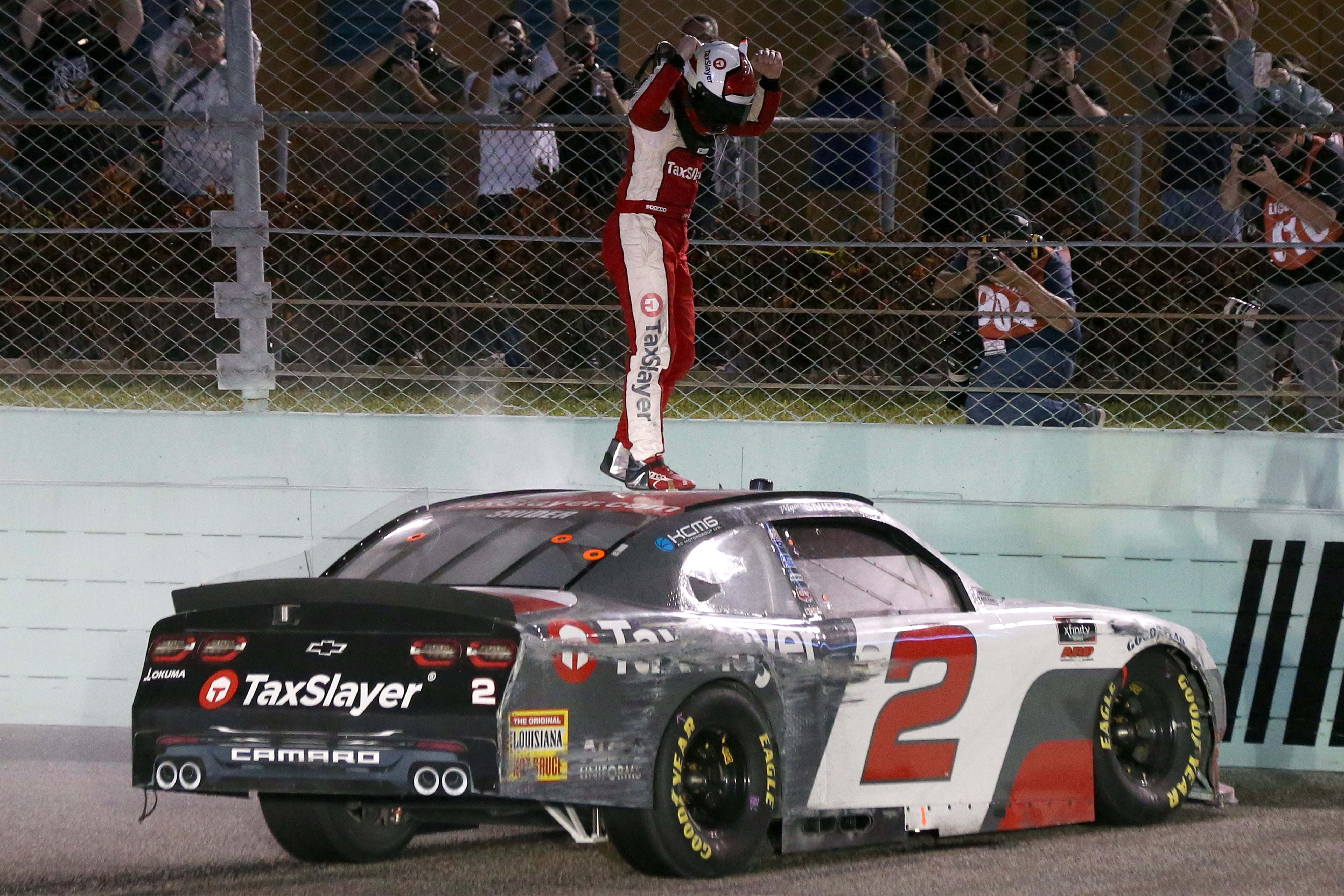 Myatt Snider wins at Homestead-Miami Speedway - NASCAR Xfinity Series
