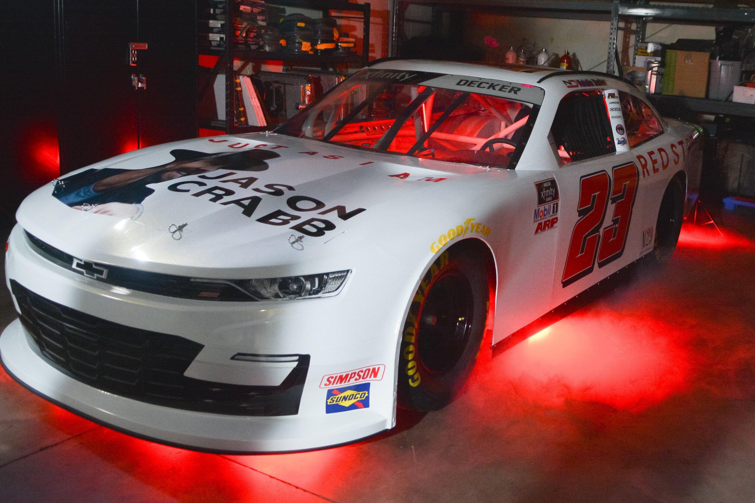 Natalie Decker - NASCAR Xfinity Series paint scheme