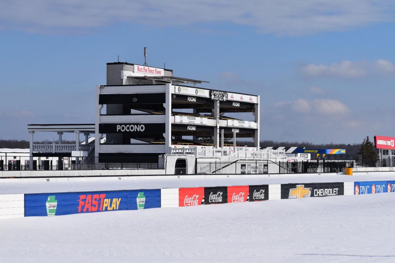 Pocono Raceway - Storm photos