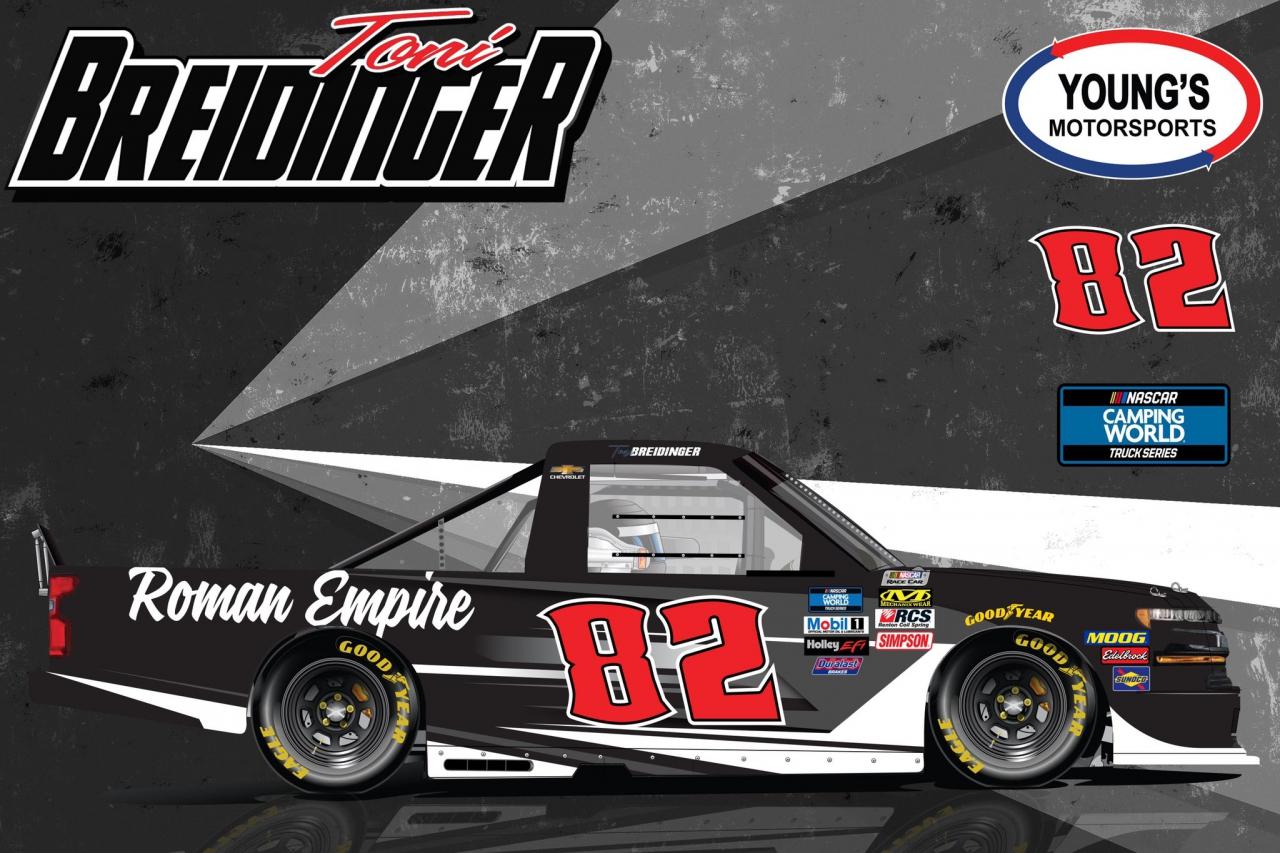 Toni Breidinger - NASCAR Truck Series