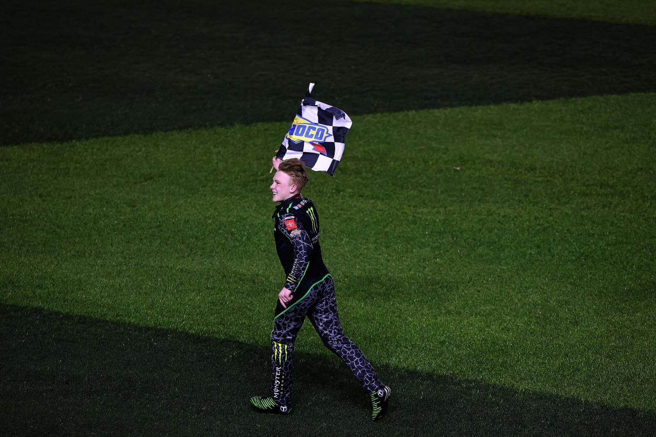 Ty Gibbs wins in first NASCAR Xfinity Series race - Daytona