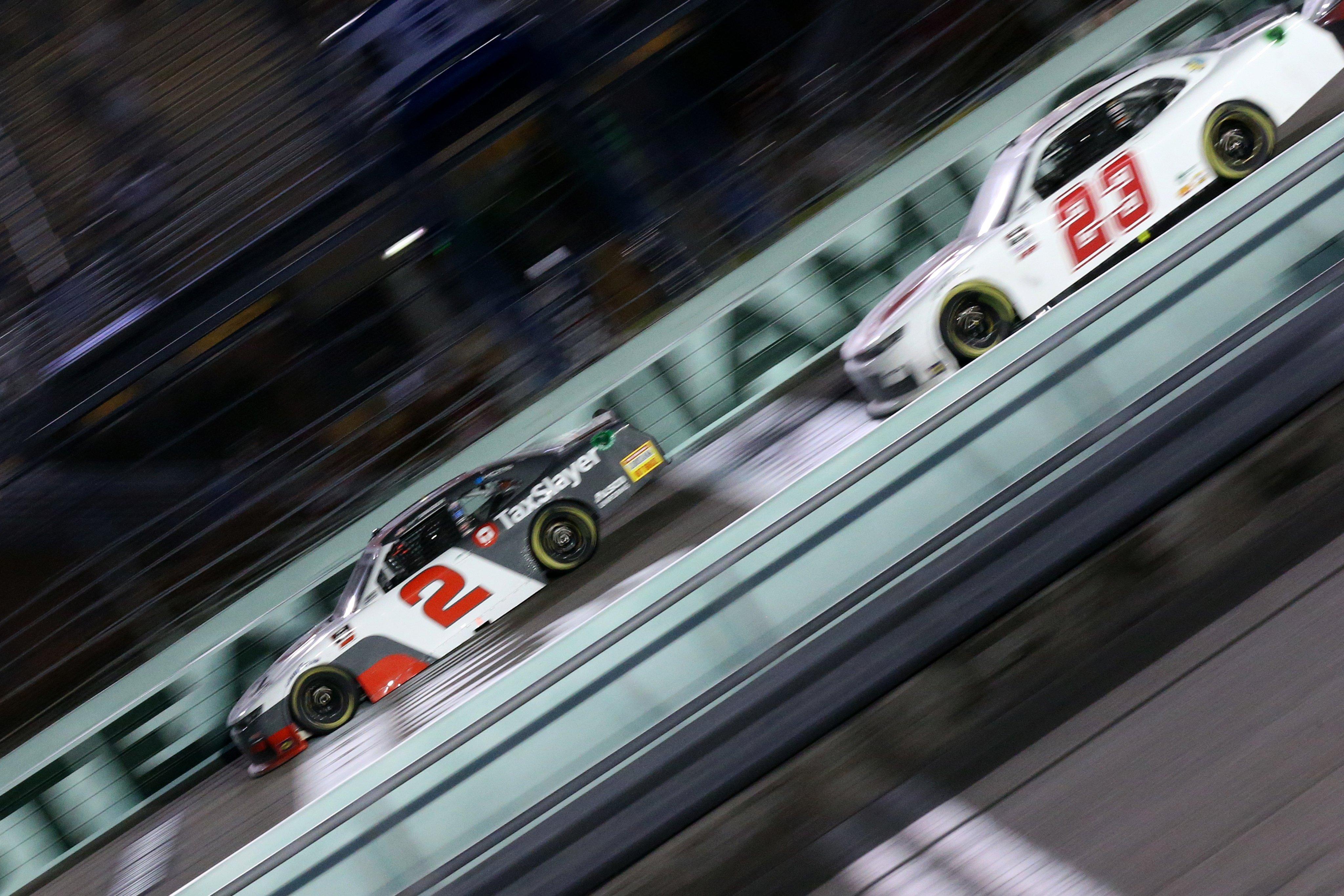 Tyler Reddick at Homestead-Miami Speedway
