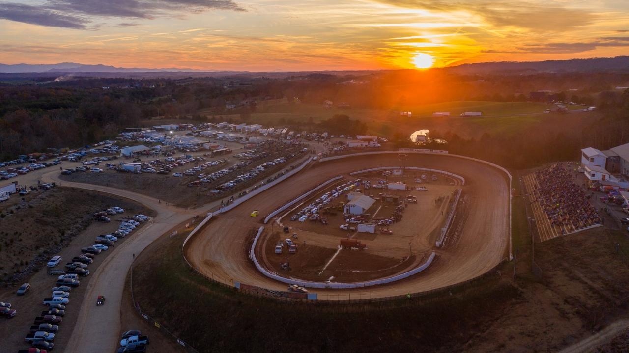 Volunteer Speedway - The Gap race track