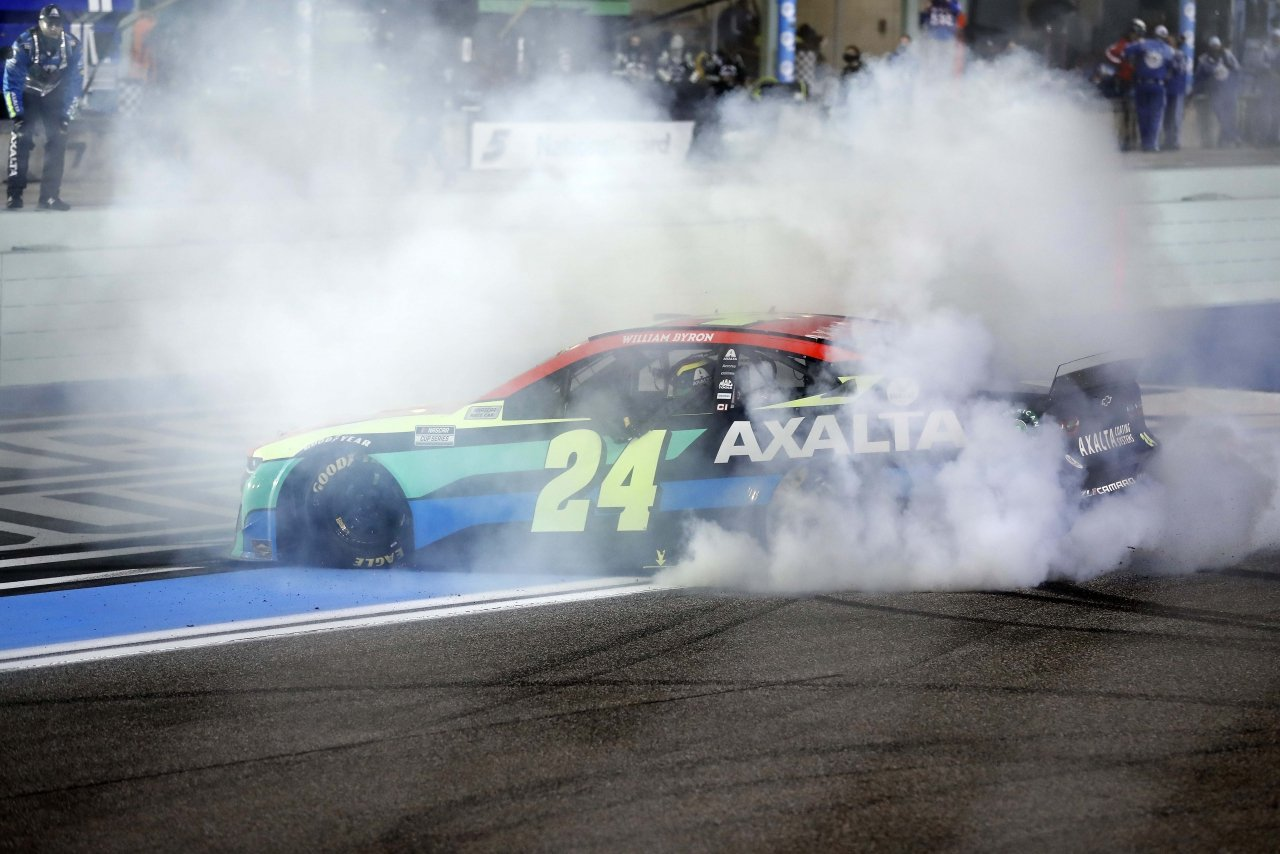 William Byron wins at Homestead-Miami Speedway - NASCAR Cup Series