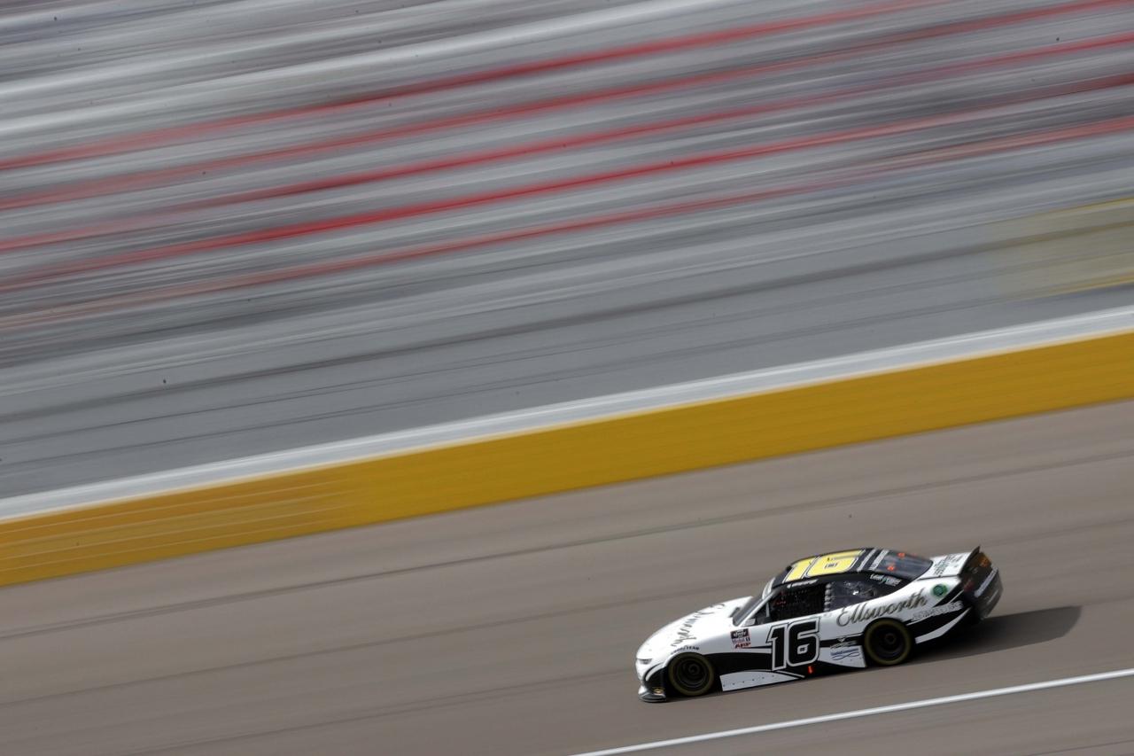 AJ Allmendinger at Las Vegas Motor Speedway - NASCAR Xfinity Series