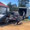 Brad Keselowski - Cochran Speedway - Dirt Track Racing