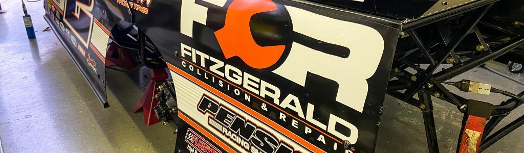 Brad Keselowski racing dirt late model this Friday