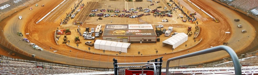 Bristol Motor Speedway could be fitted with a roof