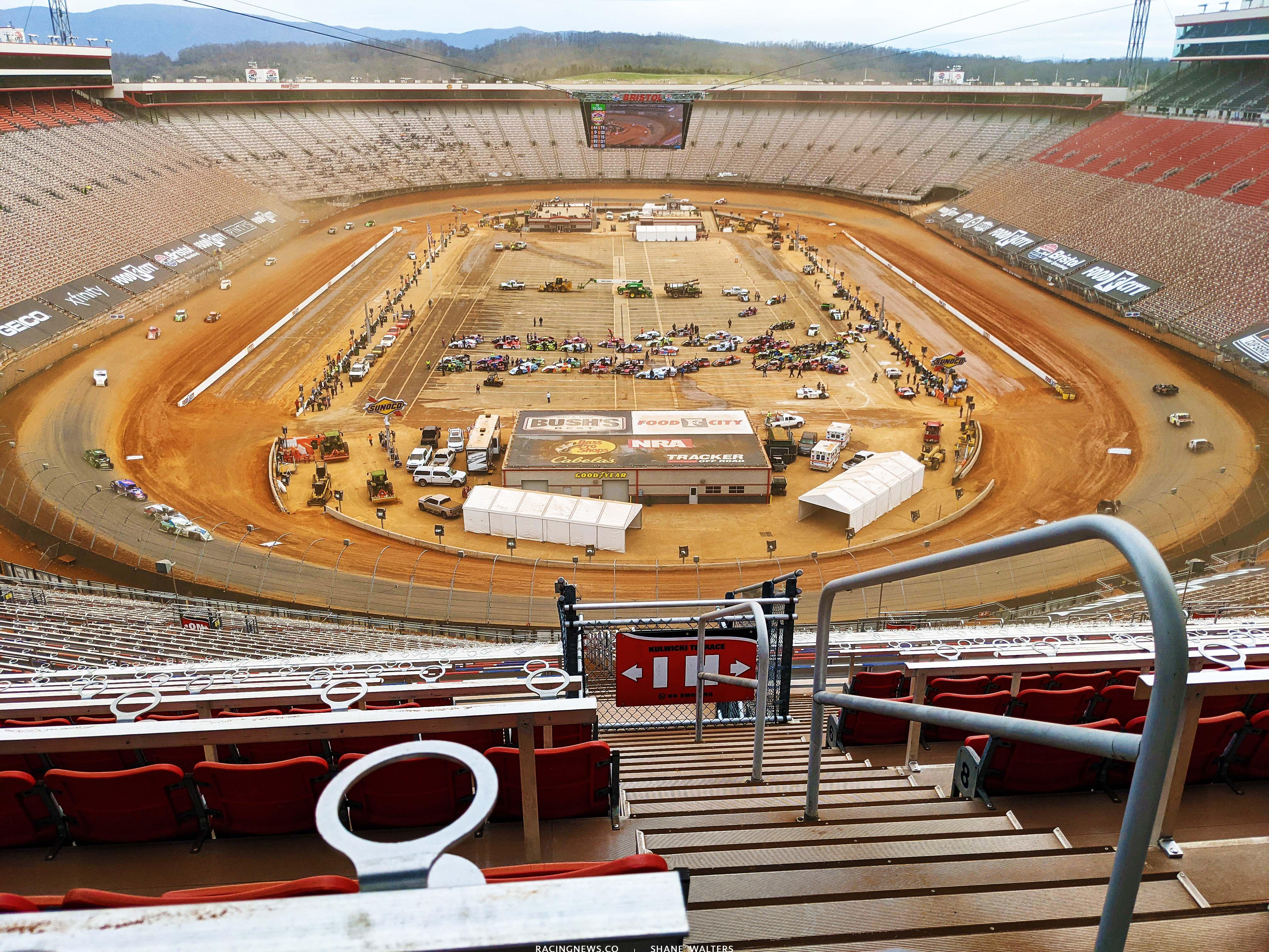 Bristol Motor Speedway - Dirt Track Photo