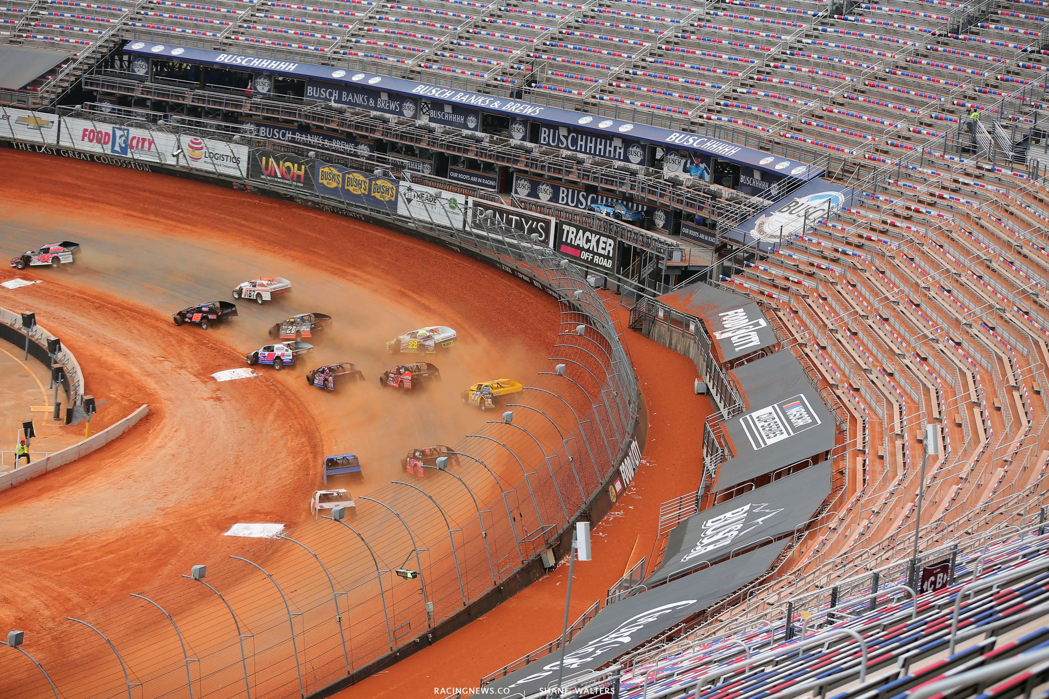 Bristol Motor Speedway dirt track - Dirt Modifieds 0163