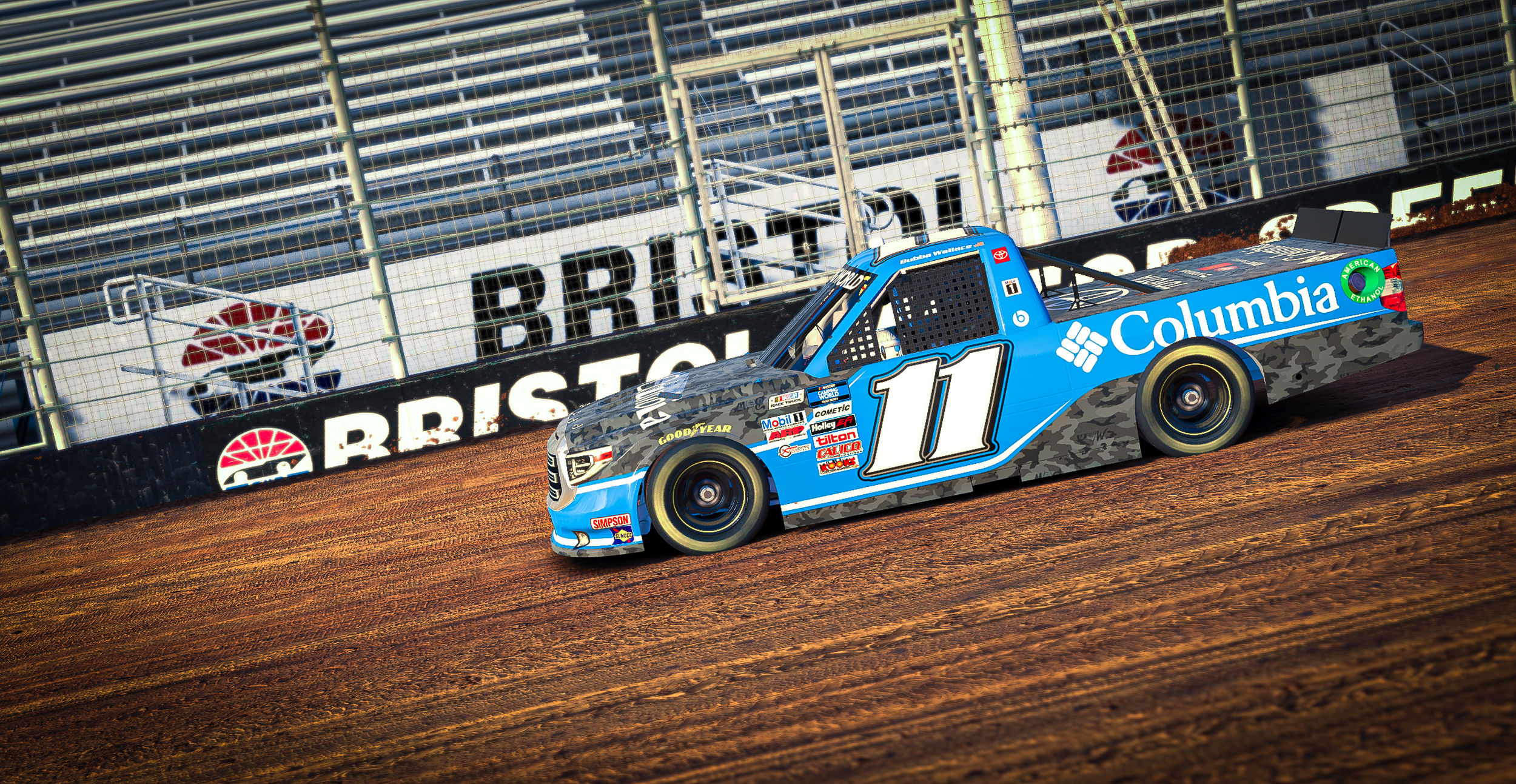 Bubba Wallace - NASCAR Truck Series - Bristol Dirt Track