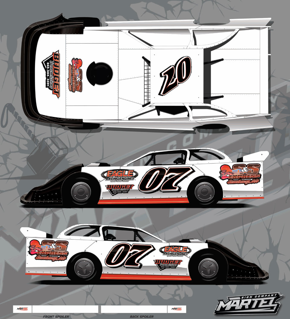 Corey LaJoie - Dirt Late Model