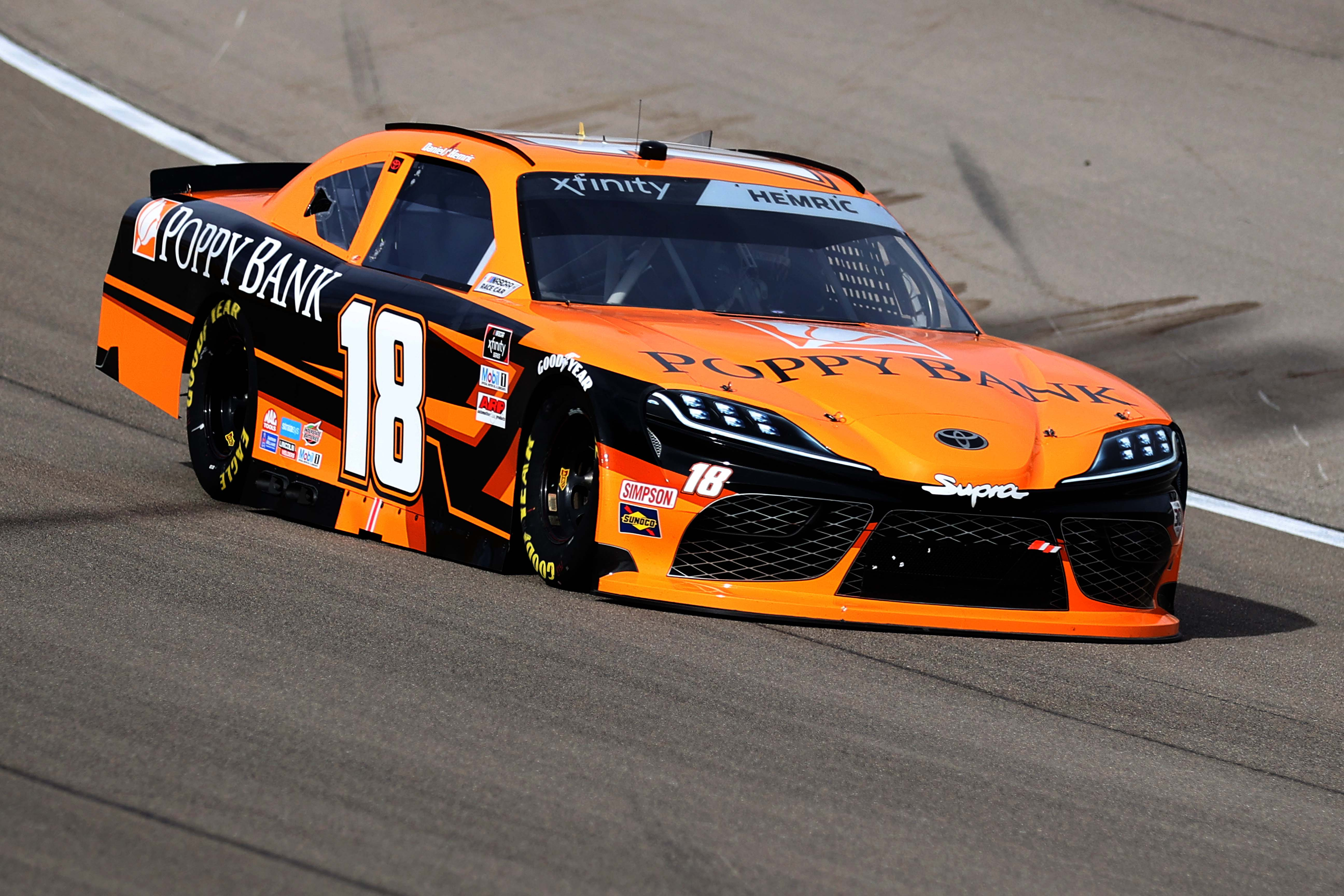 Daniel Hemric at Las Vegas Motor Speedway - NASCAR Xfinity Series