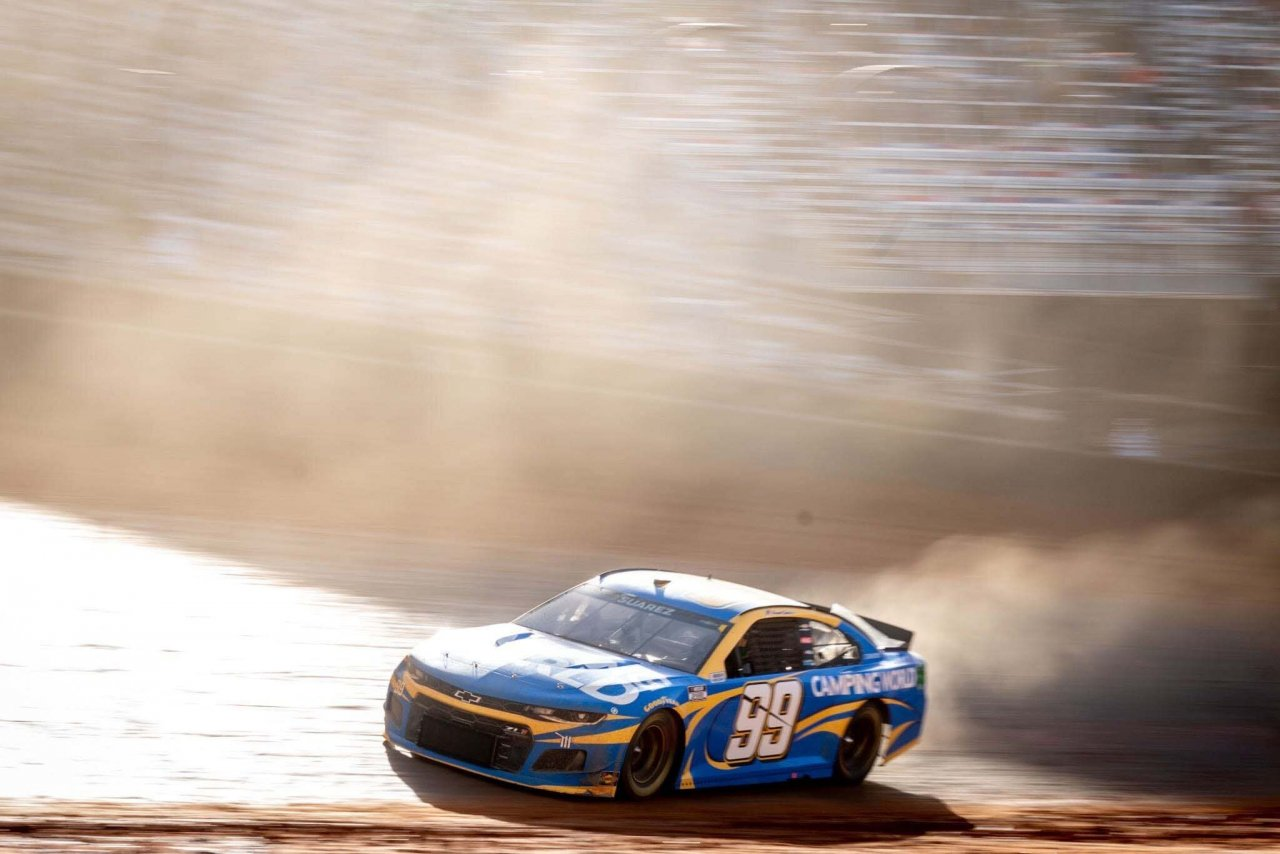Daniel Suarez - Bristol Dirt Track - NASCAR Cup Series