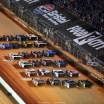 Dirt Late Model - Four Wide Salute at the Bristol Motor Speedway Dirt Track 2862