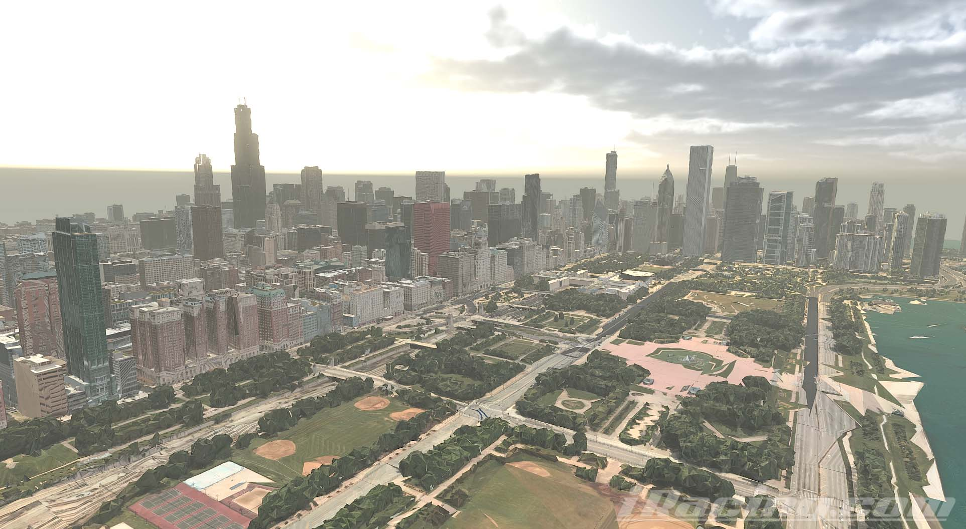 Downtown Chicago Street Course - NASCAR iRacing