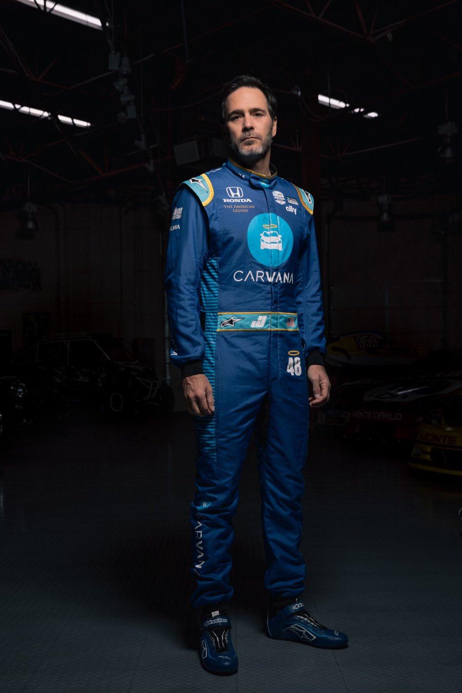 Jimmie Johnson Indycar suit