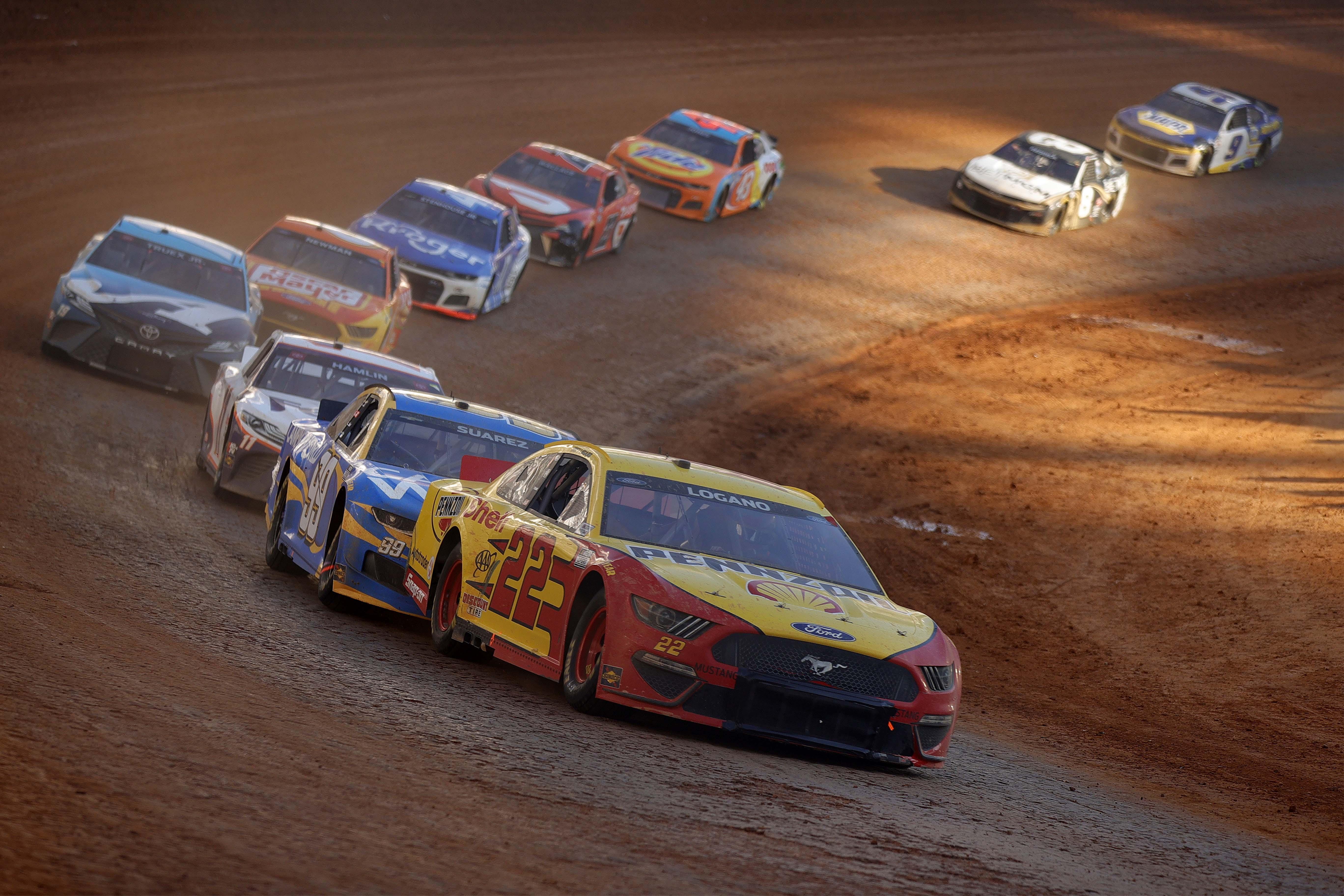Joey Logano - Bristol Dirt Track - NASCAR Cup Series