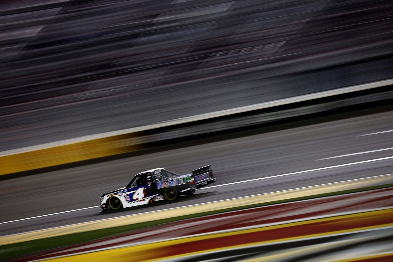 John Hunter Nemechek wins at Las Vegas Motor Speedway - NASCAR Truck Series