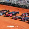 Jonathan Davenport, Scott Bloomquist and Chase Elliott - Bristol Dirt Nationals - Dirt Late Model Racing at Bristol Motor Speedway 2304