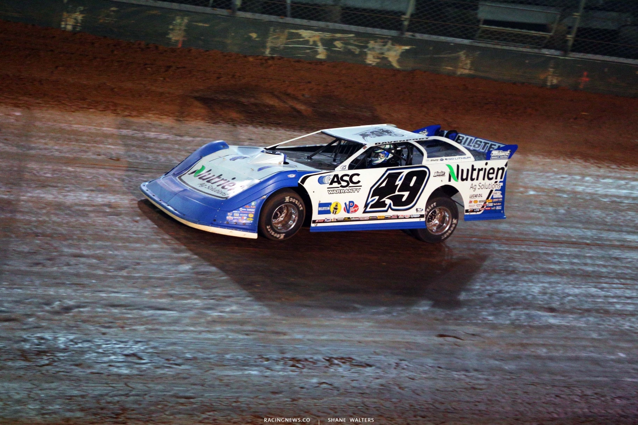Jonathan Davenport on the Bristol Motor Speedway Dirt Track - Dirt Late Models 3053