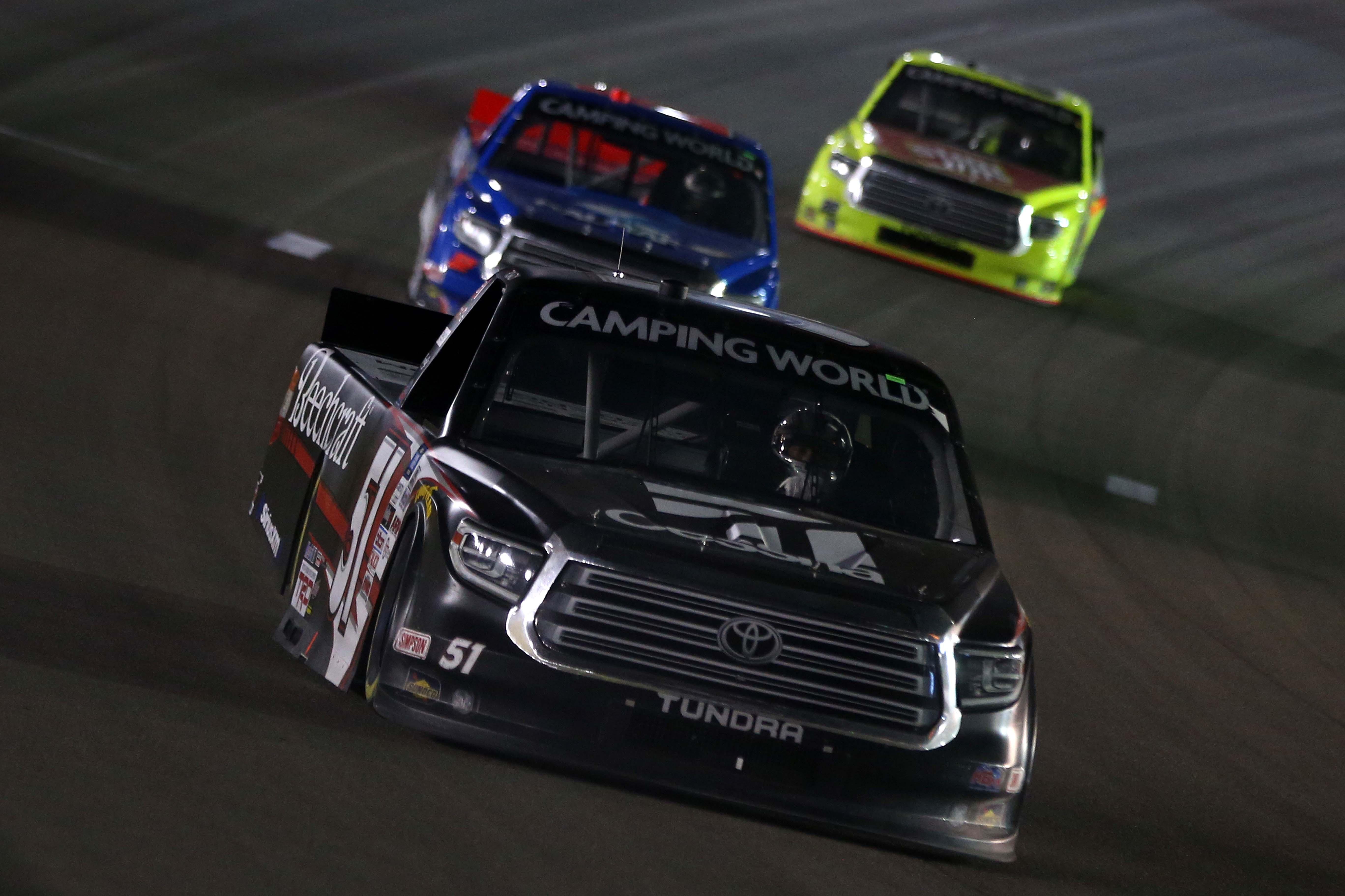 Kyle Busch at Las Vegas Motor Speedway - NASCAR Truck Series
