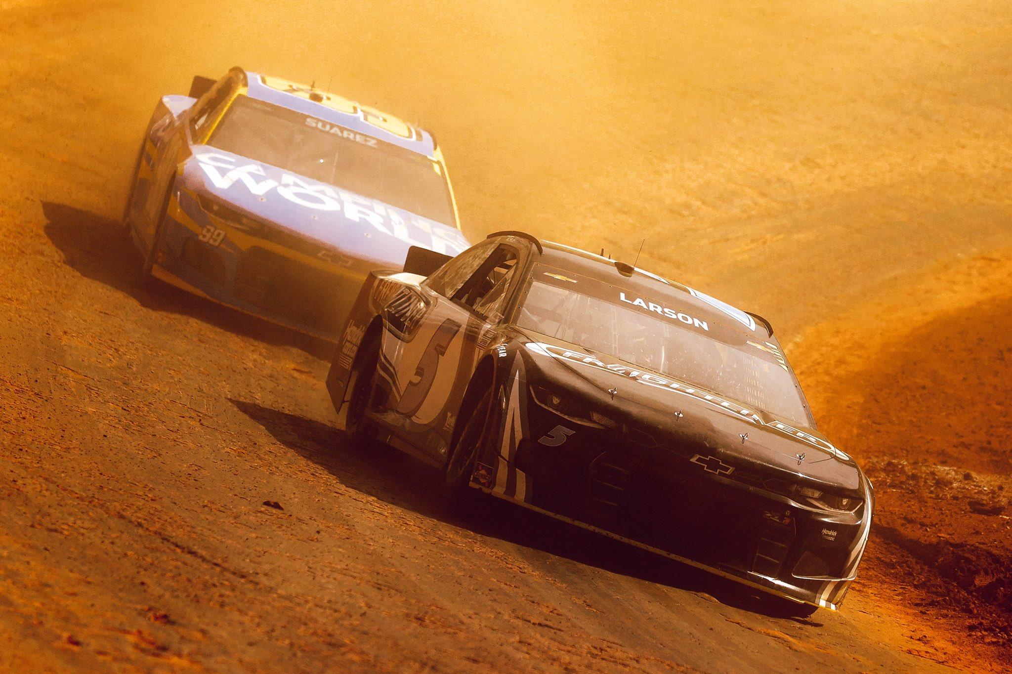 Kyle Larson - Bristol Dirt Track - NASCAR Cup Series