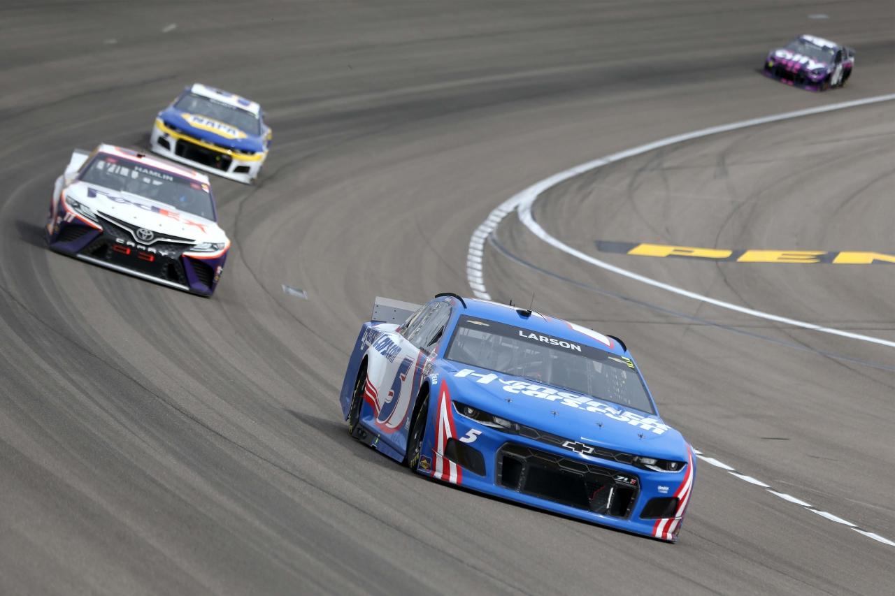 Kyle Larson at Las Vegas Motor Speedway - NASCAR Cup Series