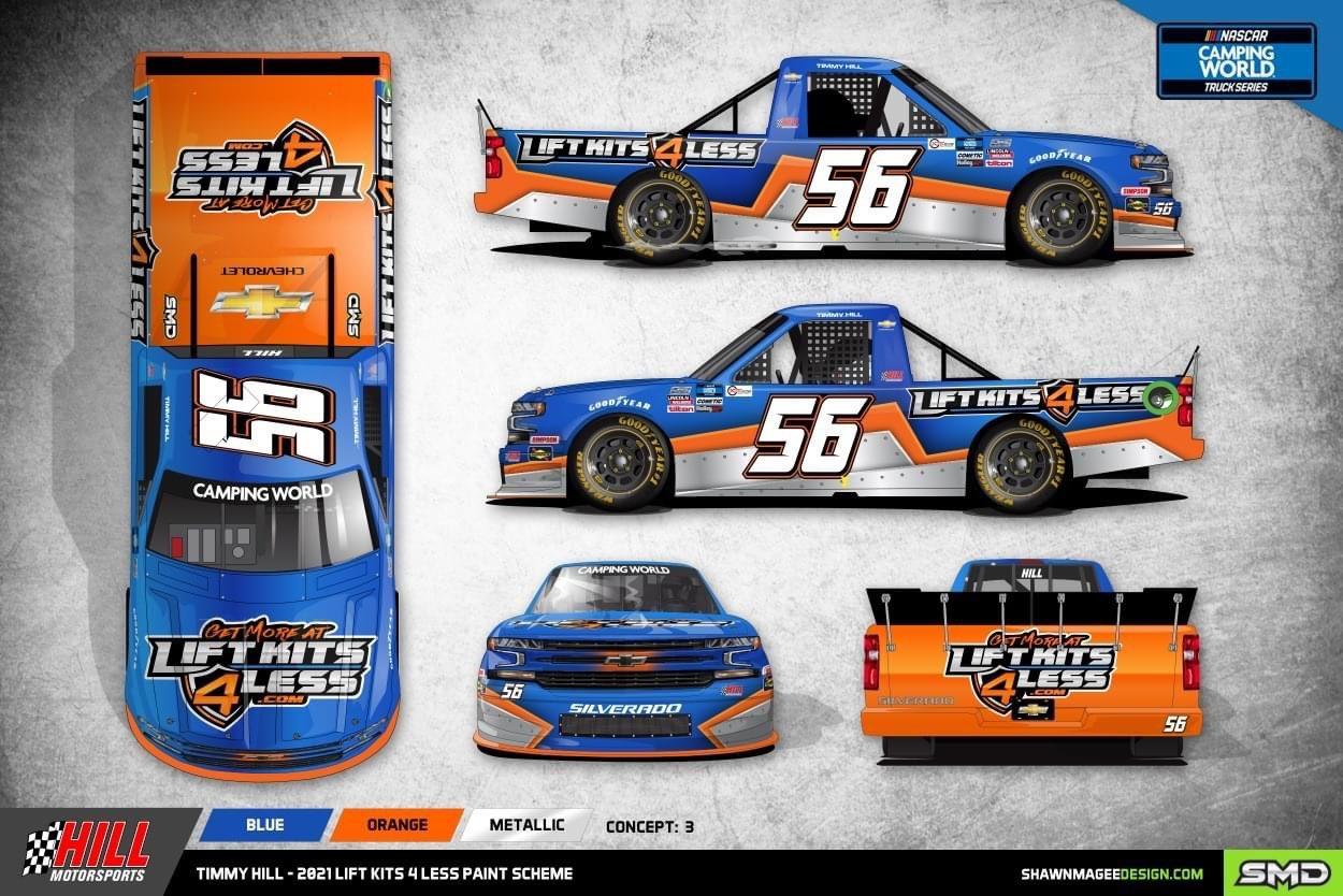 Mike Marlar - NASCAR Truck - Bristol Motor Speedway