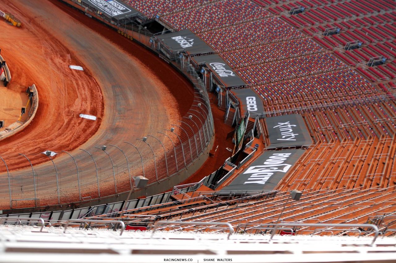 NASCAR Dirt Track - Bristol Motor Speedway dirt track 0960