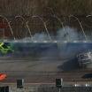 NASCAR Xfinity Series crash at Atlanta Motor Speedway