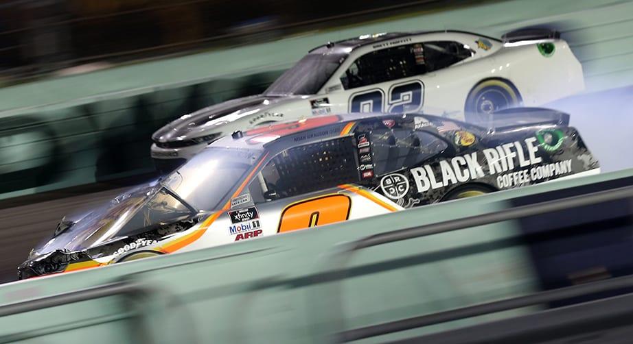Noah Gragson crash - Homestead-Miami Speedway