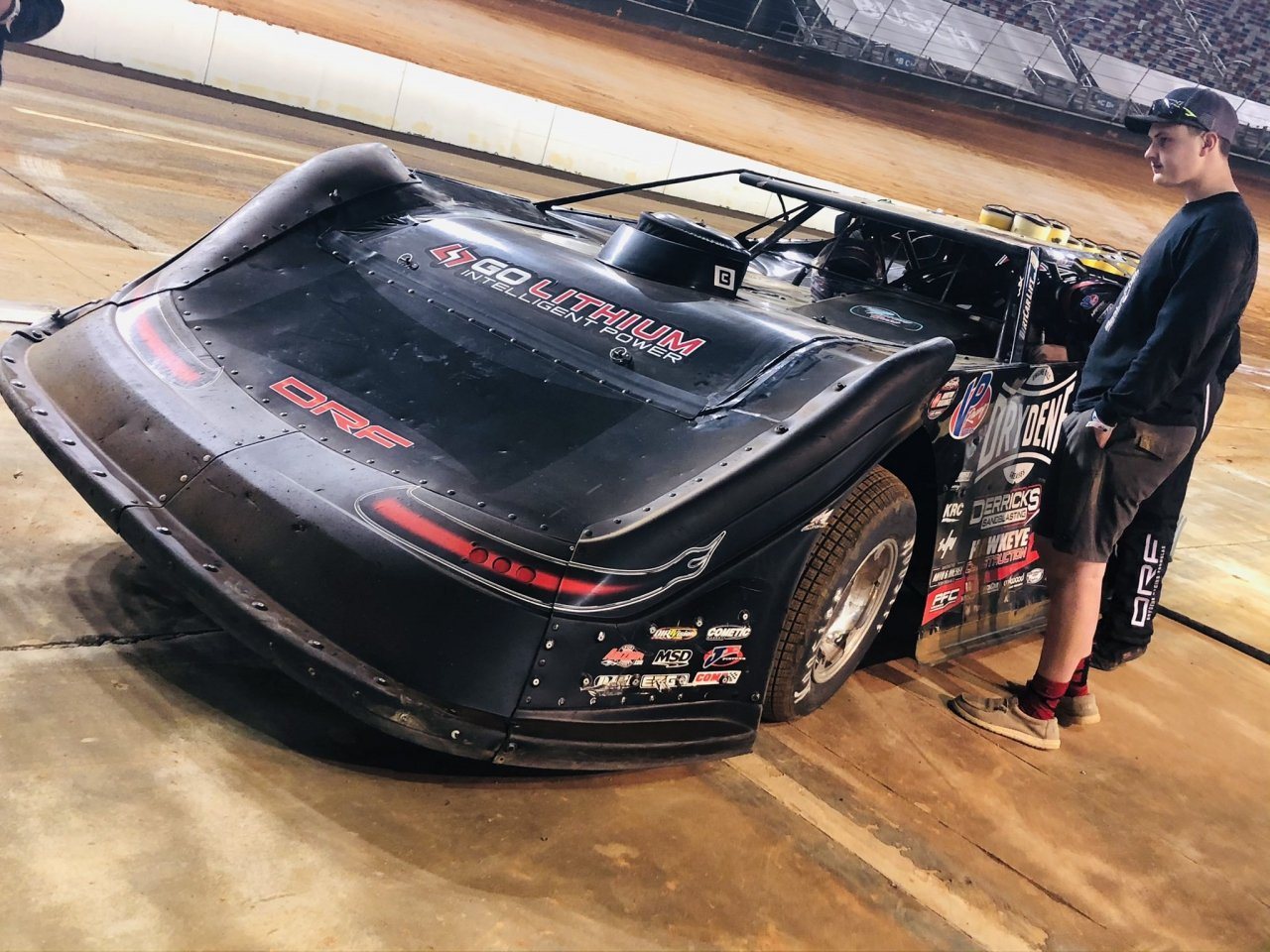 Ricky Weiss - Bristol Dirt Track - World of Outlaws Late Models