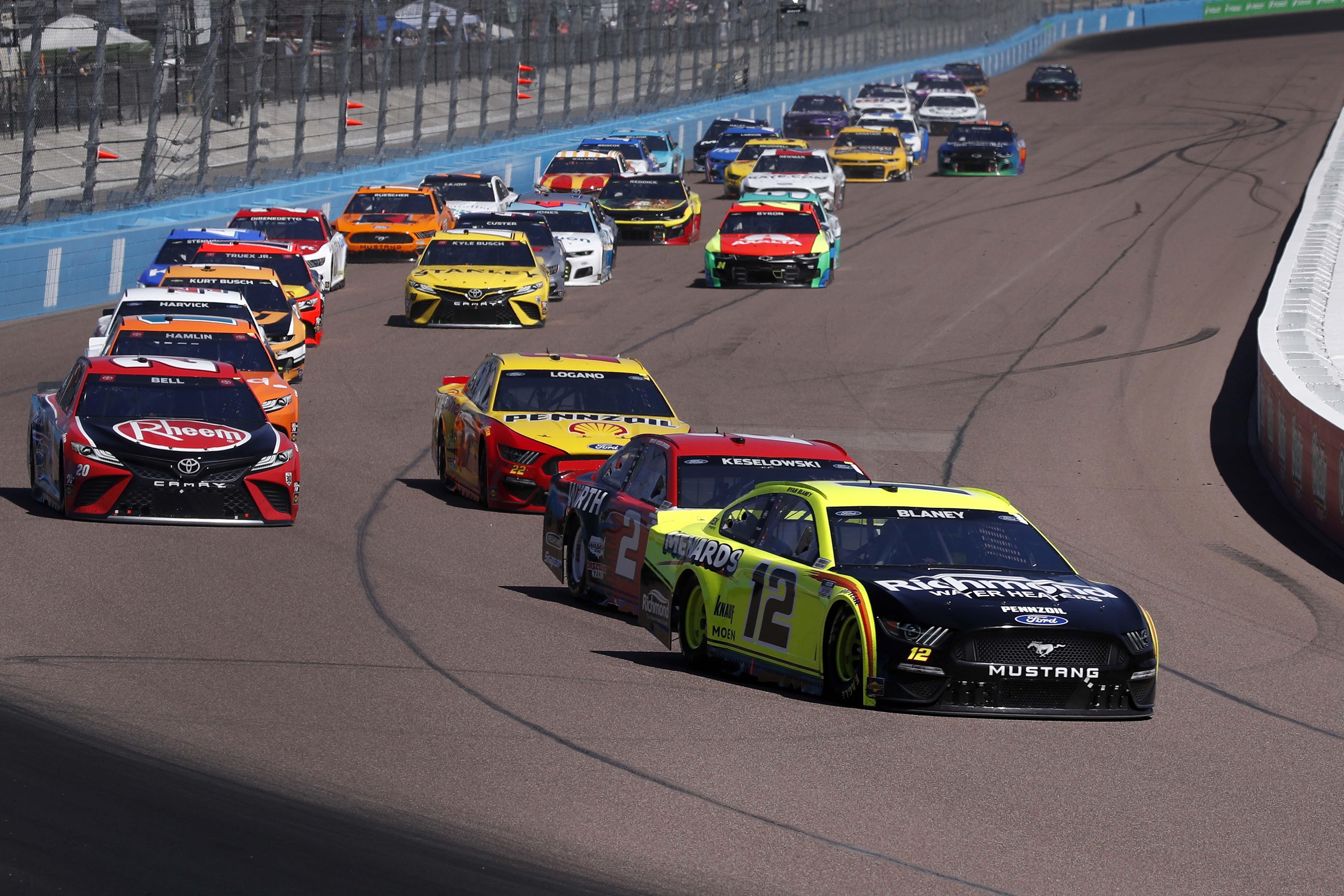 Ryan Blaney at Phoenix Raceway - NASCAR Cup Series