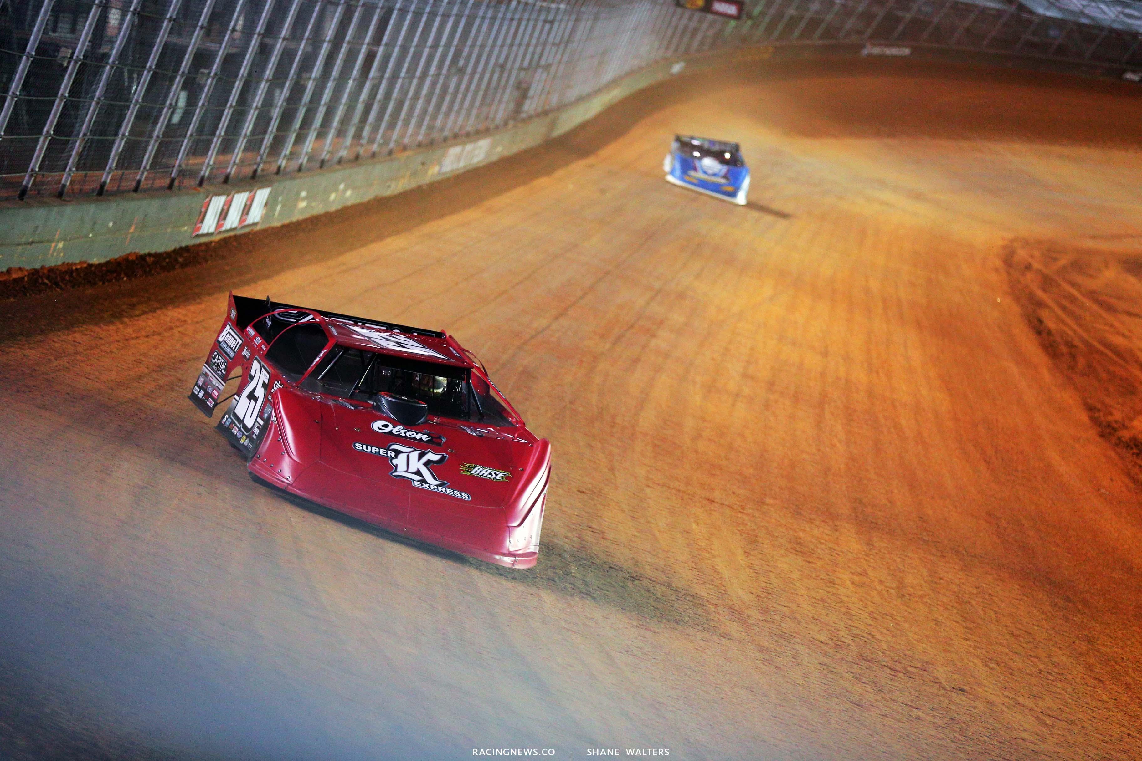 Shane Clanton - Bristol Motor Speedway Dirt Track Racing - Super Late Model