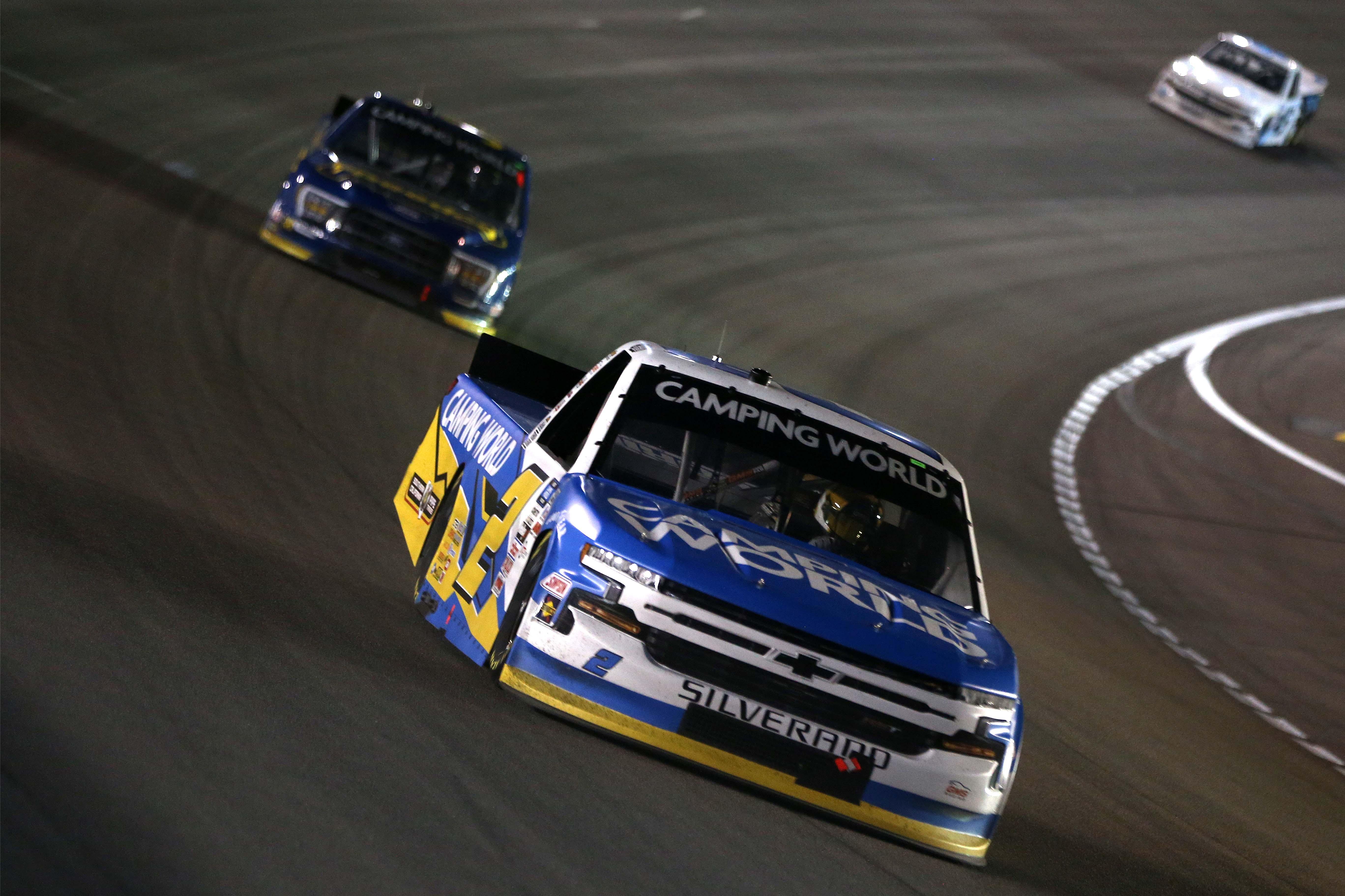 Sheldon Creed at Las Vegas Motor Speedway - NASCAR Truck Series