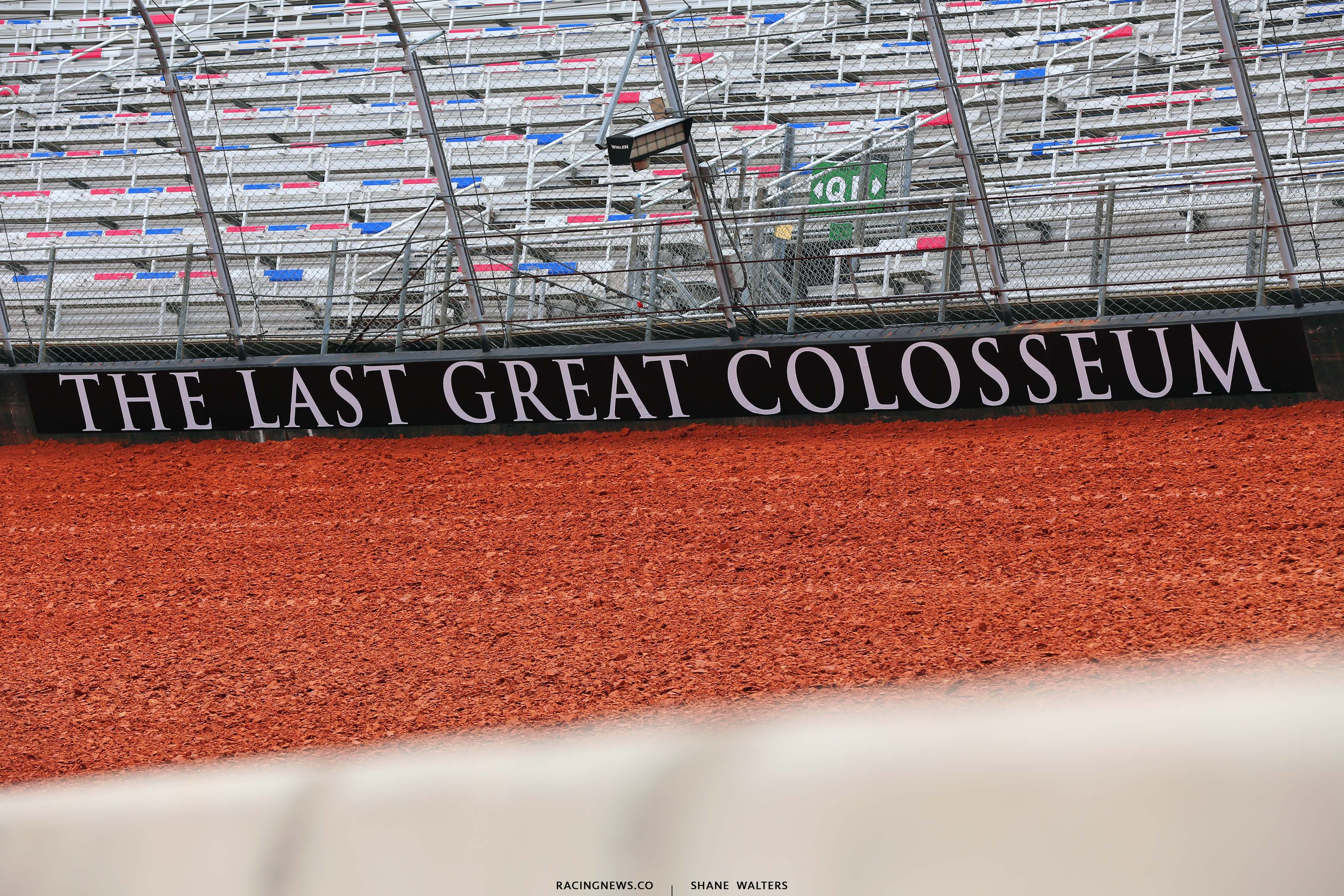 The Last Great Colosseum - Bristol Motor Speedway dirt track