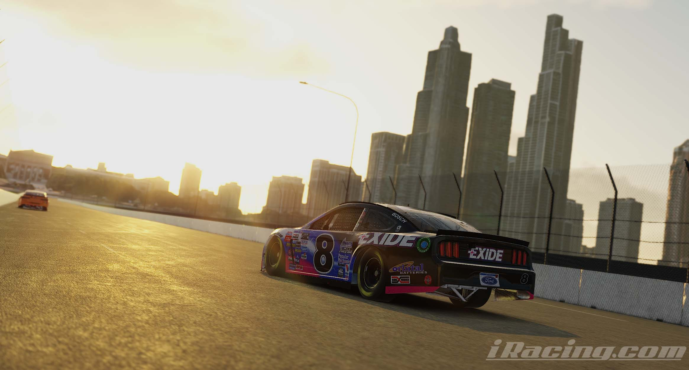 iRacing Chicago Street Course