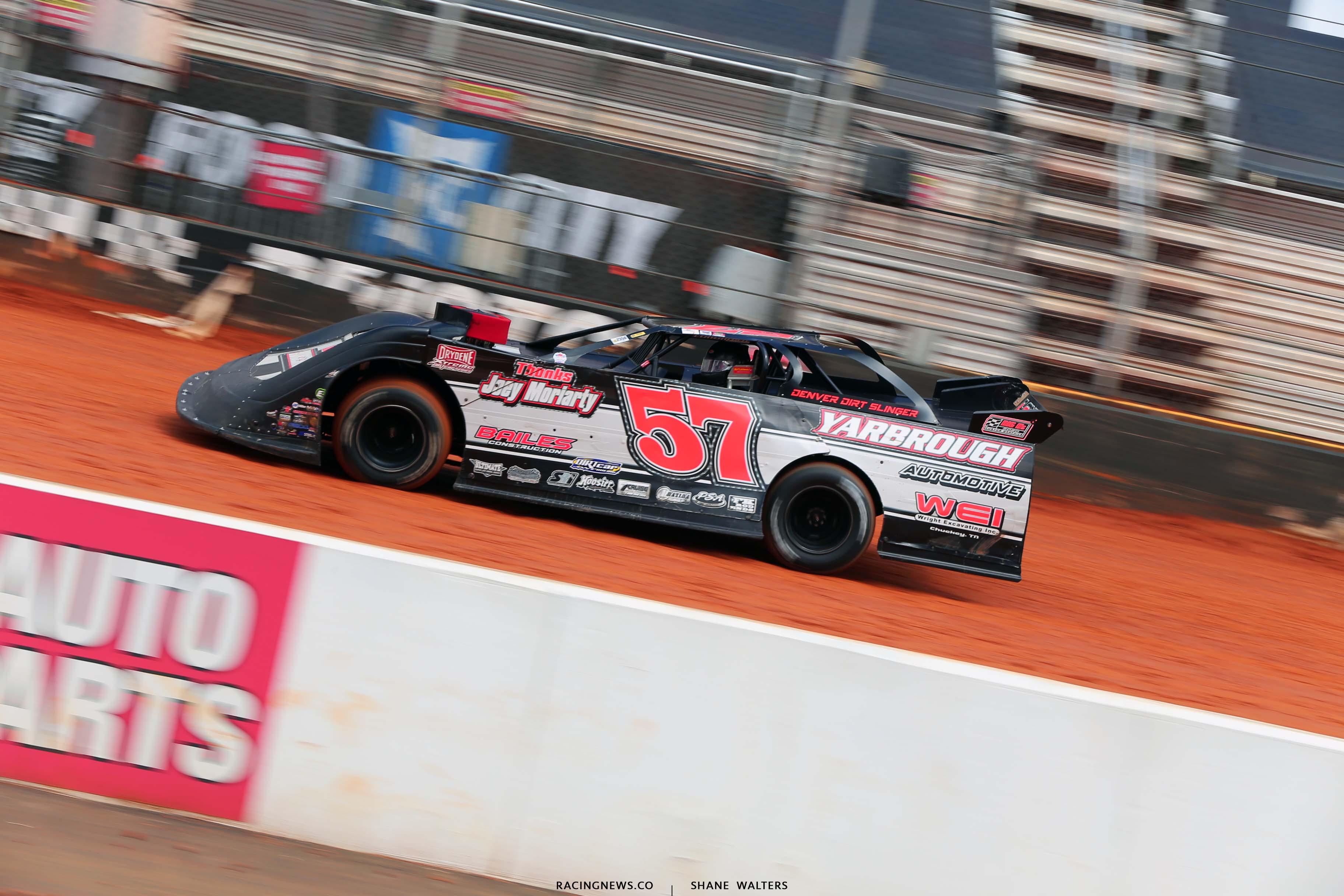 Adam Yarbrough - 57 dirt late model - Bristol Motor Speedway dirt track 1466